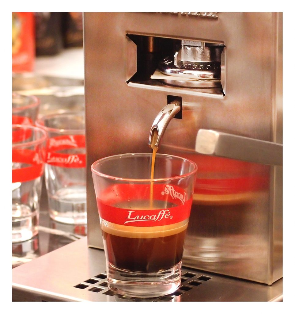 Piccola Piccola serving Espresso