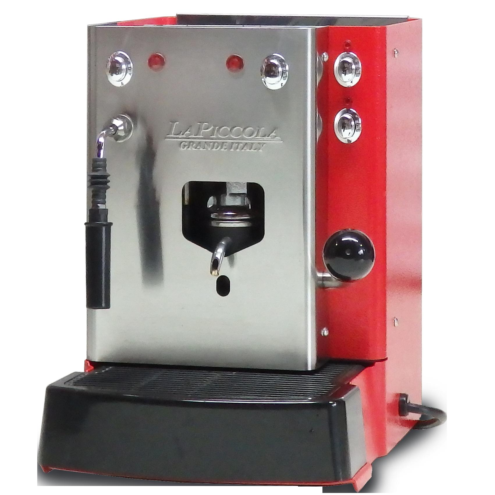 Sara Coffee Machine Red