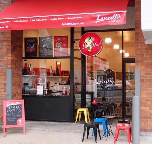 Lucaffe Brisbane Coffee Shop
