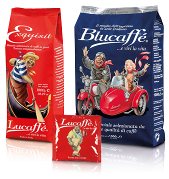 Lucaffe Italian coffee