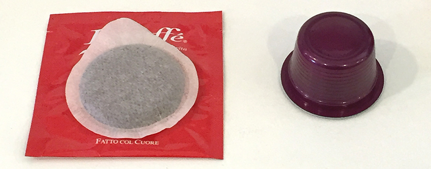 ESE coffee pod vs Plastic coffee pod