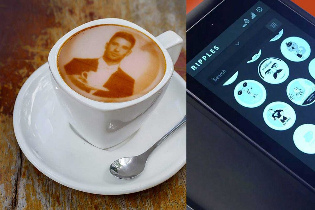 Latte Art Machine