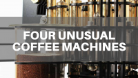 Four Inspiring, Artistic and Unusual  Coffee Machines