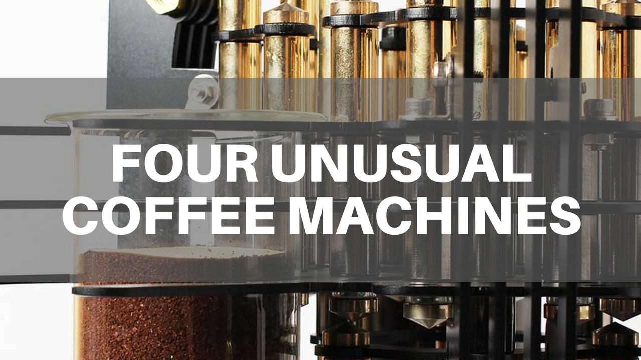 Four Artistic Coffee Machines
